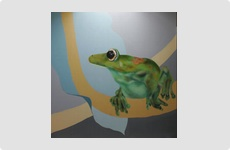 Tree Frog - Painting by Barry McCullough