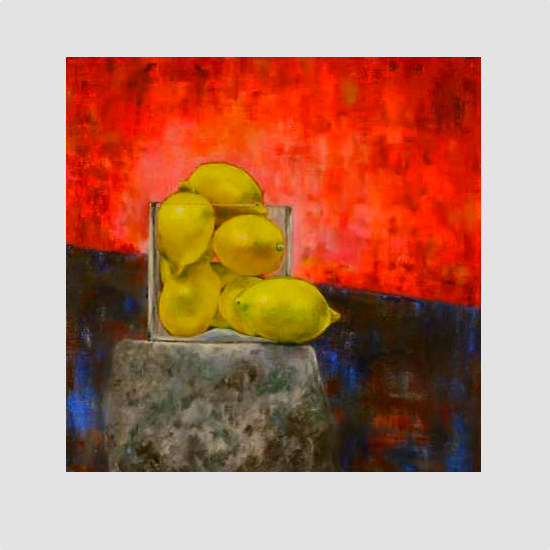 Lemons - Painting by Barry McCullough
