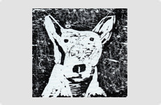 Jack - Woodcut by Barry McCullough